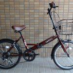 マルイシ / ロキシー(折り畳み自転車)②